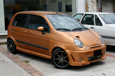 Chevrolet Spark Modifikasi