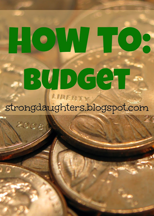 How to Form a Budget (+ free printable!)