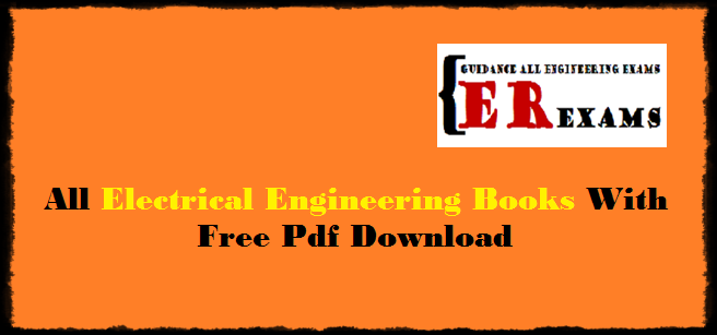 all electrical engineering books with free pdf download
