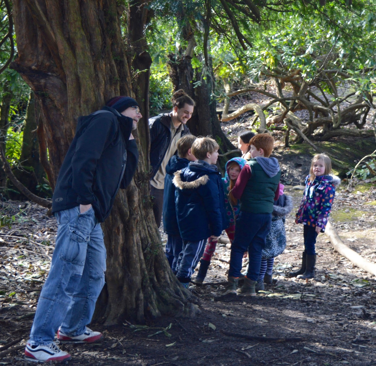 Beamish Wild | School Holiday Club & Activities in County Durham | North East England - den building huddle