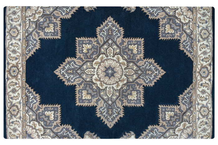 Blue Rug from Overstock | 20 Classic Style Rugs for Any Budget at www.andersonandgrant.com