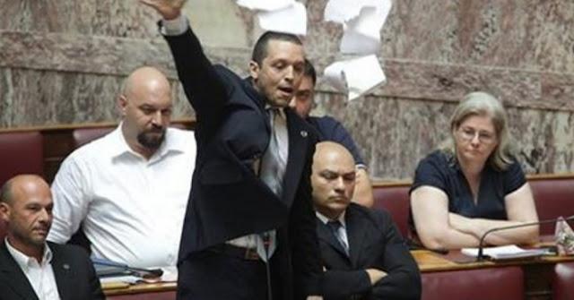 ΕΚΡΗΚΤΙΚΗ ομιλία Κασιδιάρη στη Βουλή! (Βίντεο)