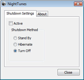 Shutdown Computer from iTunes