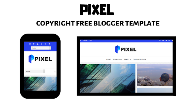 Blogger Template Without Copyright for 2019