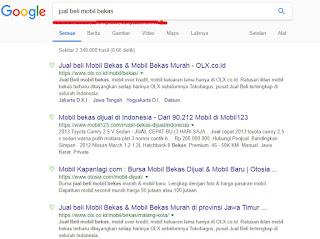 Halaman Pertama Google (Studi Kasus Optimalkan Keyword)