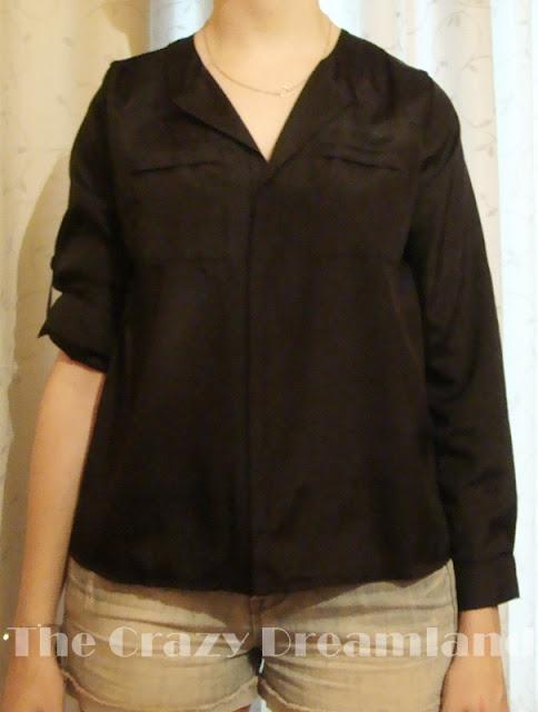 dresslink camisa negra