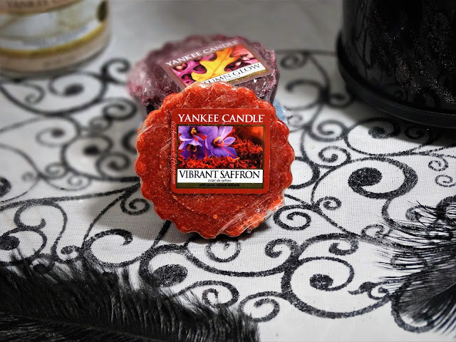 avis vibrant saffron eclat de safran yankee candle blog bougie cocooning