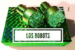Proyecto de los robots para Educación Infantil 5 años