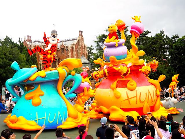 Winnie the Pooh, Tokyo Disneyland, Japan