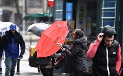 szélvihar, ANM, időjárás előrejelzés