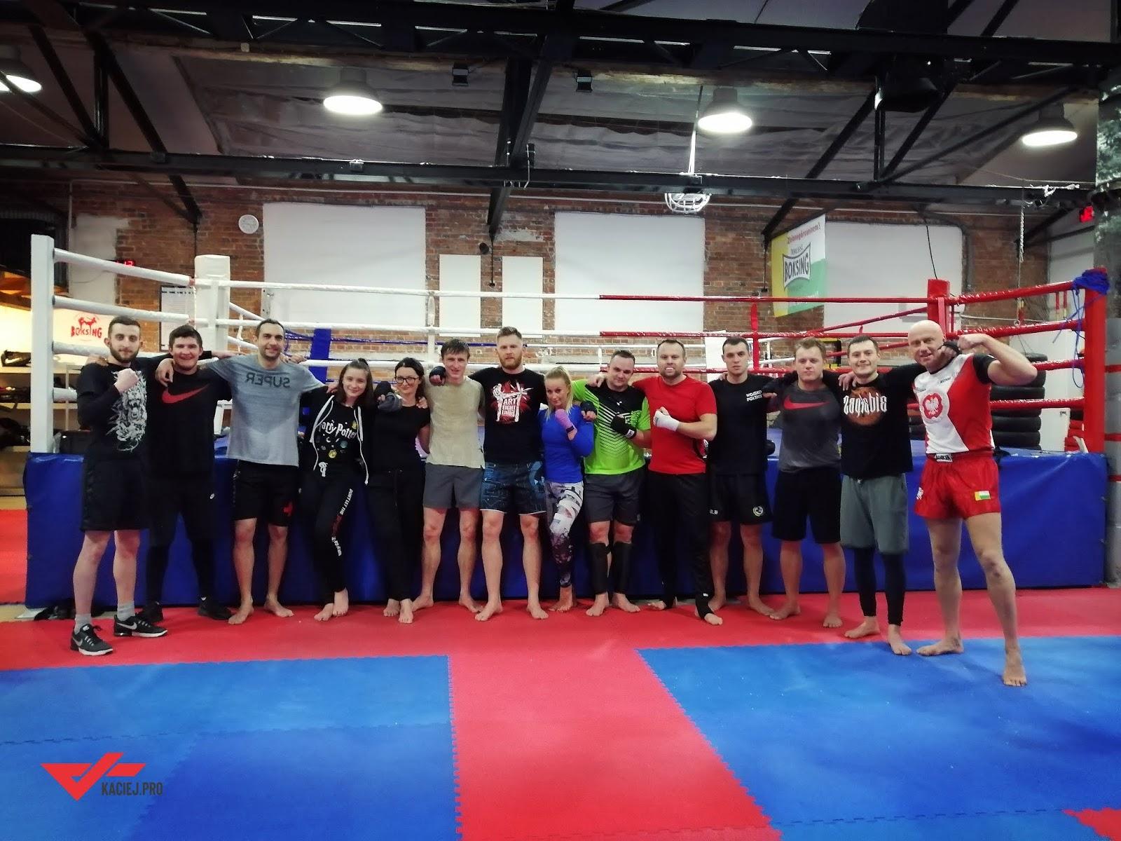 Trenuj Muay Thai lub Boks pod okiem Kacieja
