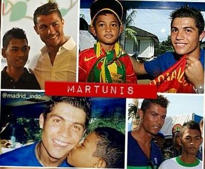 Ronaldo Membantu Martunis Korban Tsunami Aceh