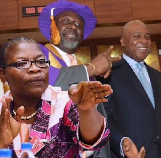 Oby Ezekwesili saraki and dino melaye