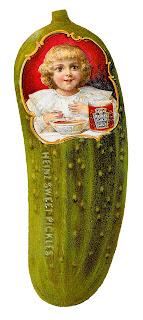 food pickle soup victorian clipart illustration digital download image