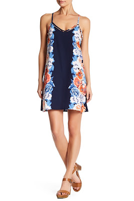 Be Bop V-Neck Print Dress $19 (reg $48)