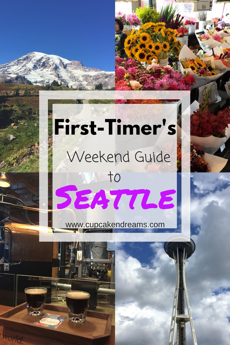 Weekend Guide to Seattle - Cupcakes and Dreams blog