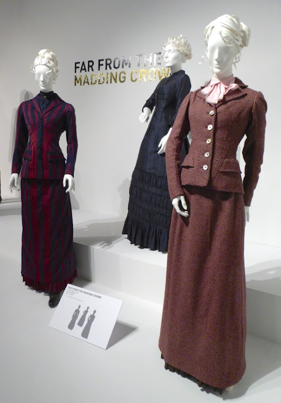 Bathsheba Everdene film costumes Far From the Madding Crowd