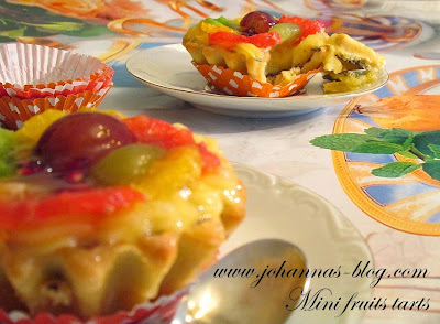 Mini fruits tarts