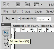 The Move Tool in Photoshop
