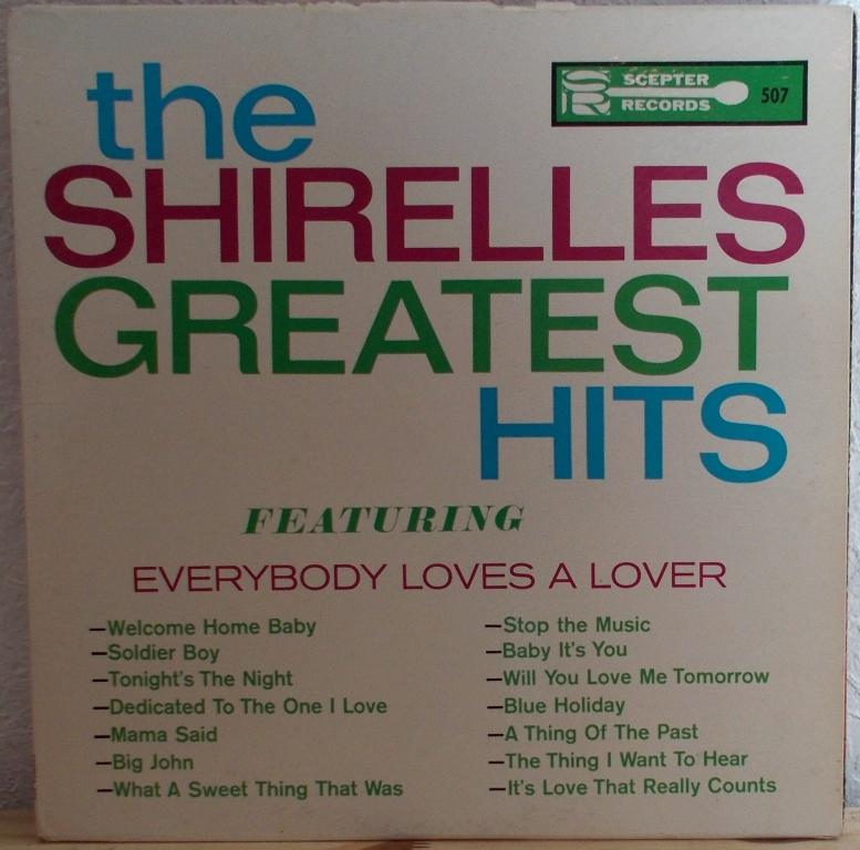Cercles Parfaits The Shirelles Baby It S You