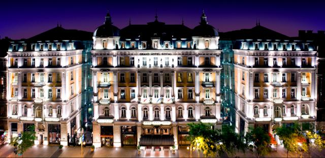 Grand Hotel, Budapest, Hungary