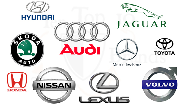 Top 10 Best Car Brands