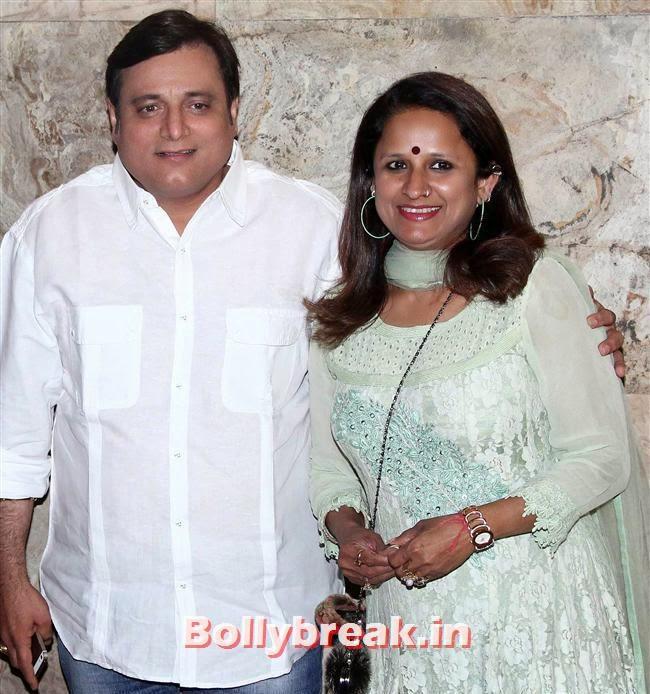 Manoj Joshi, Genelia D Souza, Salman Khan at Special Screening of Film Yellow