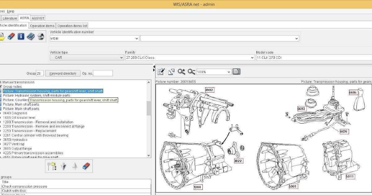 Latest 2019 Mercedes//SMART WIS ASRA /& EPC Dealer Service Repair Workshop Manual