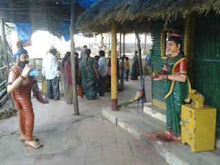 ravana as beggar parnasala