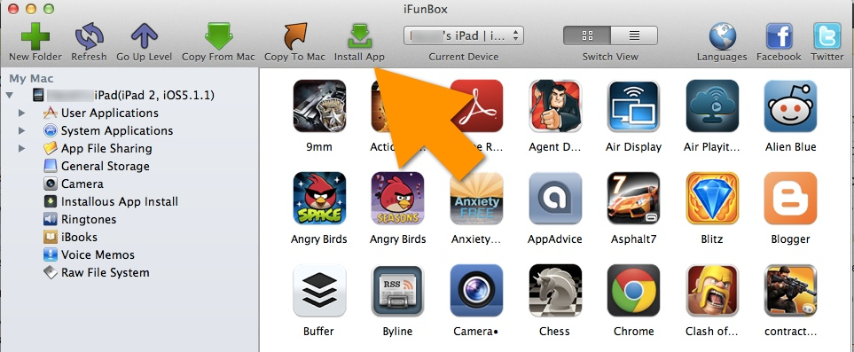 how to install cracked apps on iphone 6.1.3