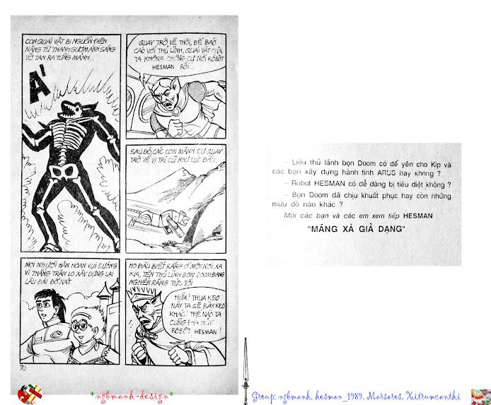 Dũng Sĩ Hesman tập 2 - hesman xuất hiện trang 37