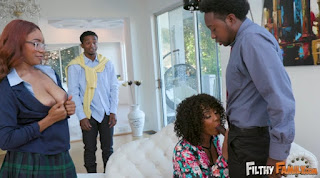 FilthyFamily Misty Stone And Jenna Foxx Lets Keep It In The Family