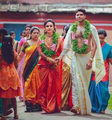 RJ-Lakshmi-Rimshad-walking-to-the-aisle