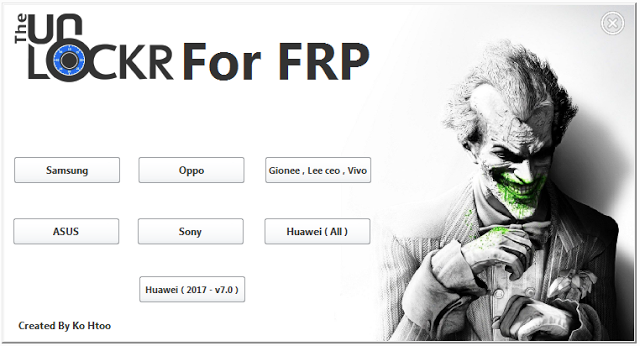 All FRP Unlock Tutorials 2017 Free Download