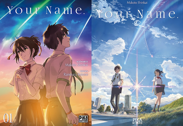 Pika Édition, Actu Light Novel, Light Novel, Manga, Actu Manga, Ranmaru Kotone, Makoto Shinkai, Your Name,
