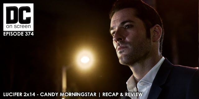 Lucifer watches Candy Morningstar drive away