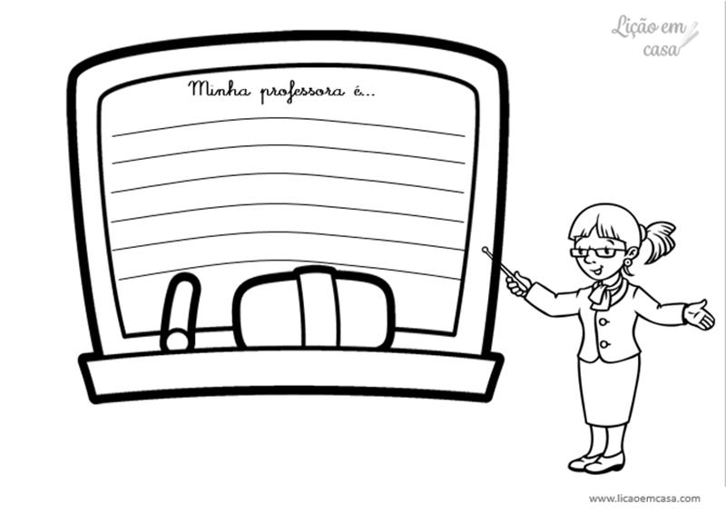 painéis de recados ao professor