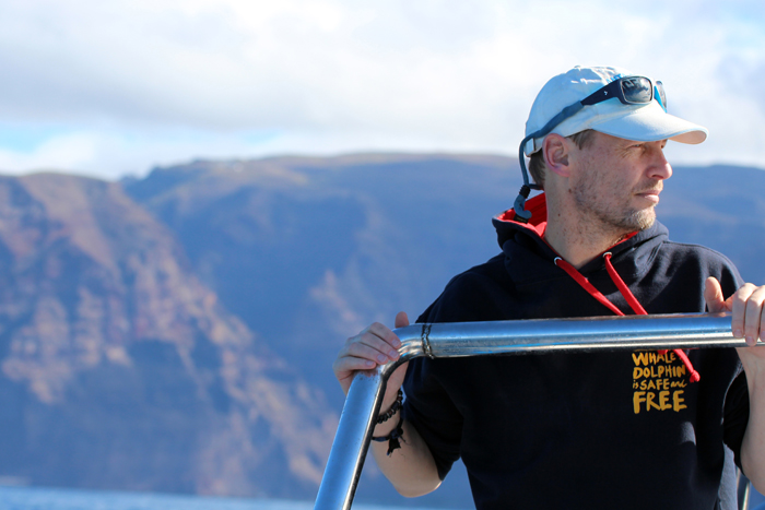 WDC-Meeresbiologe Fabian Ritter