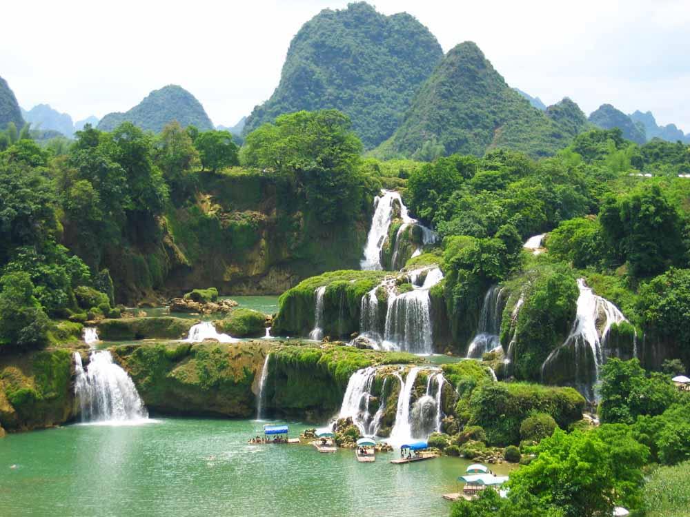 Cachoeira Ban Gioc - Detian | Lugares Fantásticos