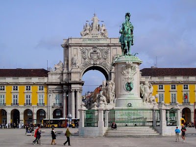 Photo of Praça do Comércio, one of the most famous squares in Lisbon