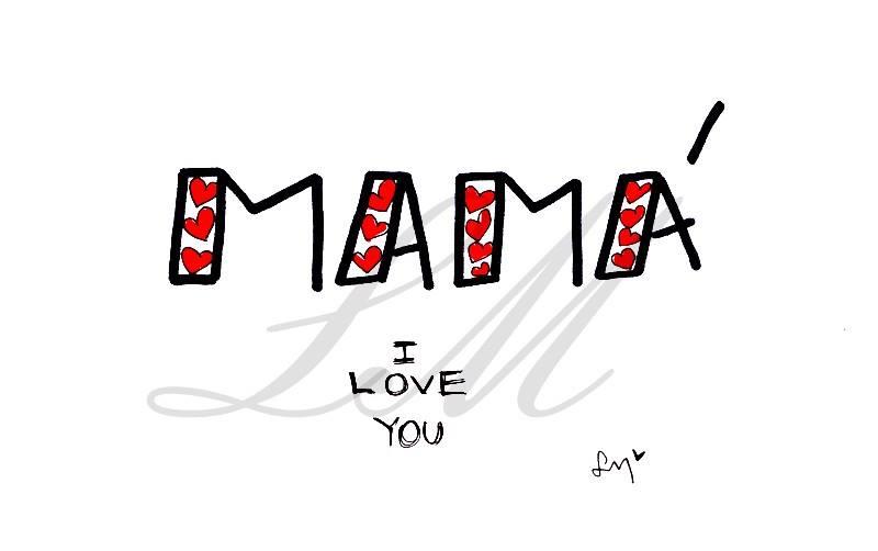 LolaMento, lola mento ilustraciones, Lola Mento, lolamento ilustraciones, día de la madre LolaMento,