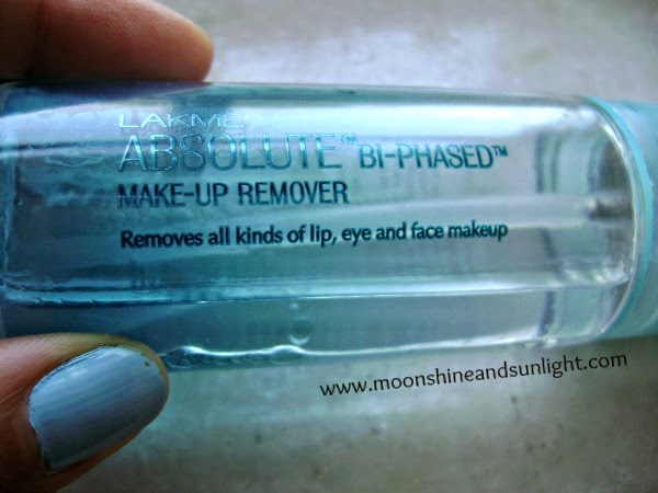 Lakme Bi phased makeup remover review and price in India