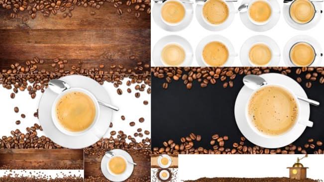 تحميل 10 صور منوعة عالية الجودة لحبوب البن