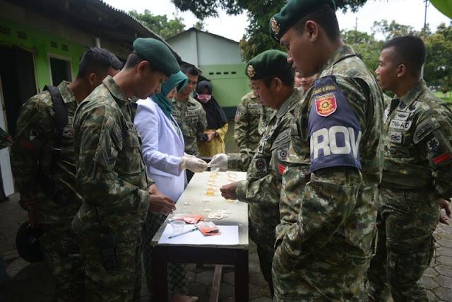 Yonif Raider 509 Kostrad Adakan Penyuluhan dan Sosialisasi P4GN di Jember