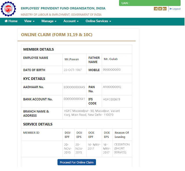 How to Fill EPF or EPS Withdrawal Form and Process Claims Online