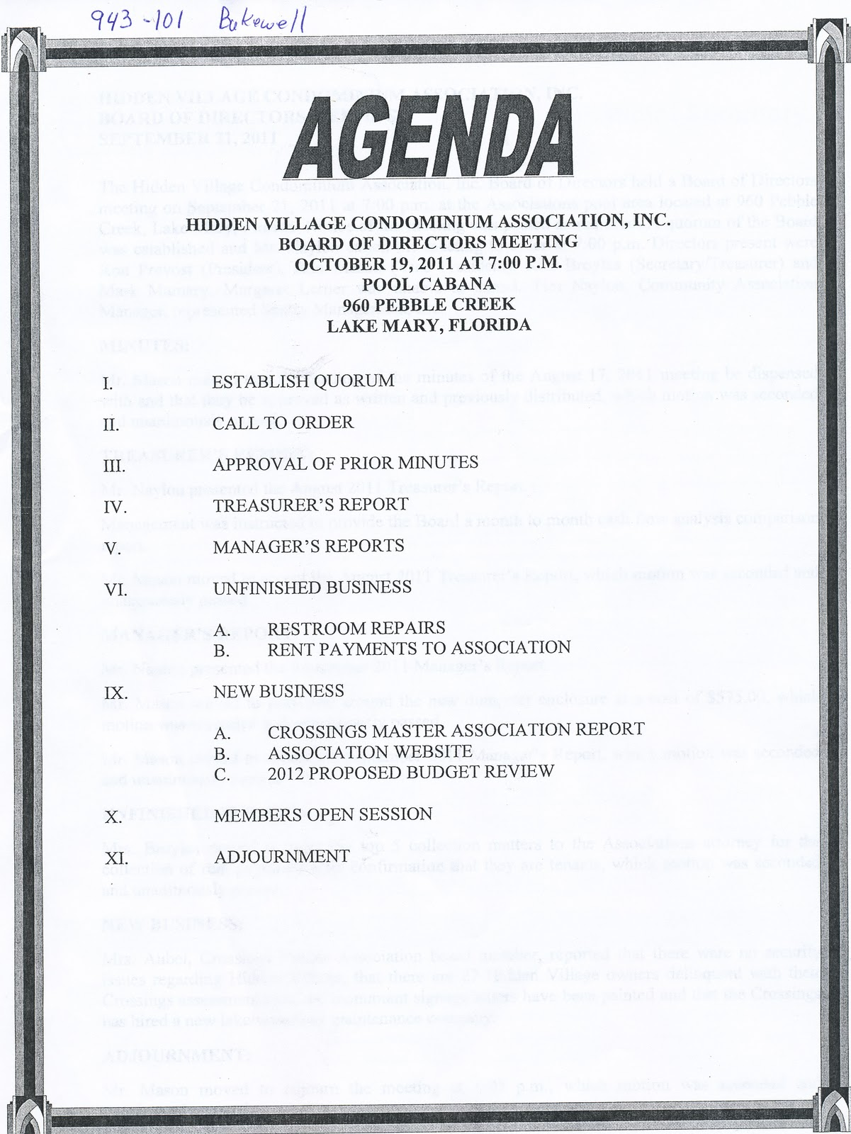 Doc529684 Sample Agenda Format for Meeting Free Meeting – Basic Meeting Agenda Template