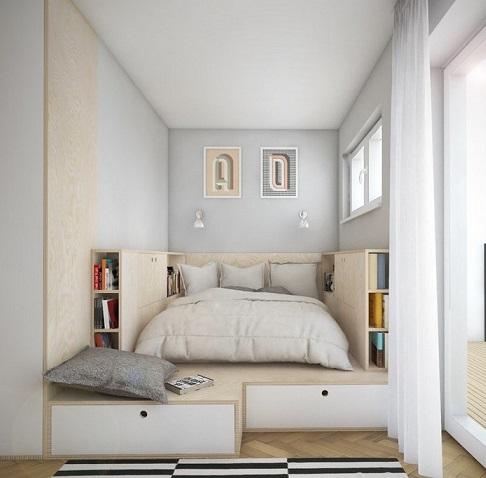 Decorar un dormitorio de espacio reducido dormitorios - Decoracion del dormitorio ...