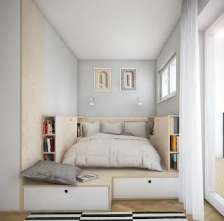 Decoración dormitorio espacio reducido