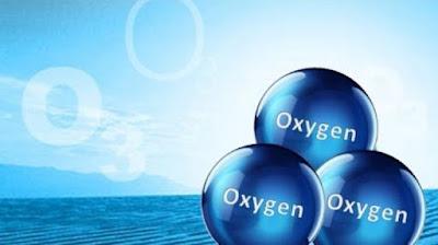 3 oksijen, ozon gazı molekülü, ozon formülü