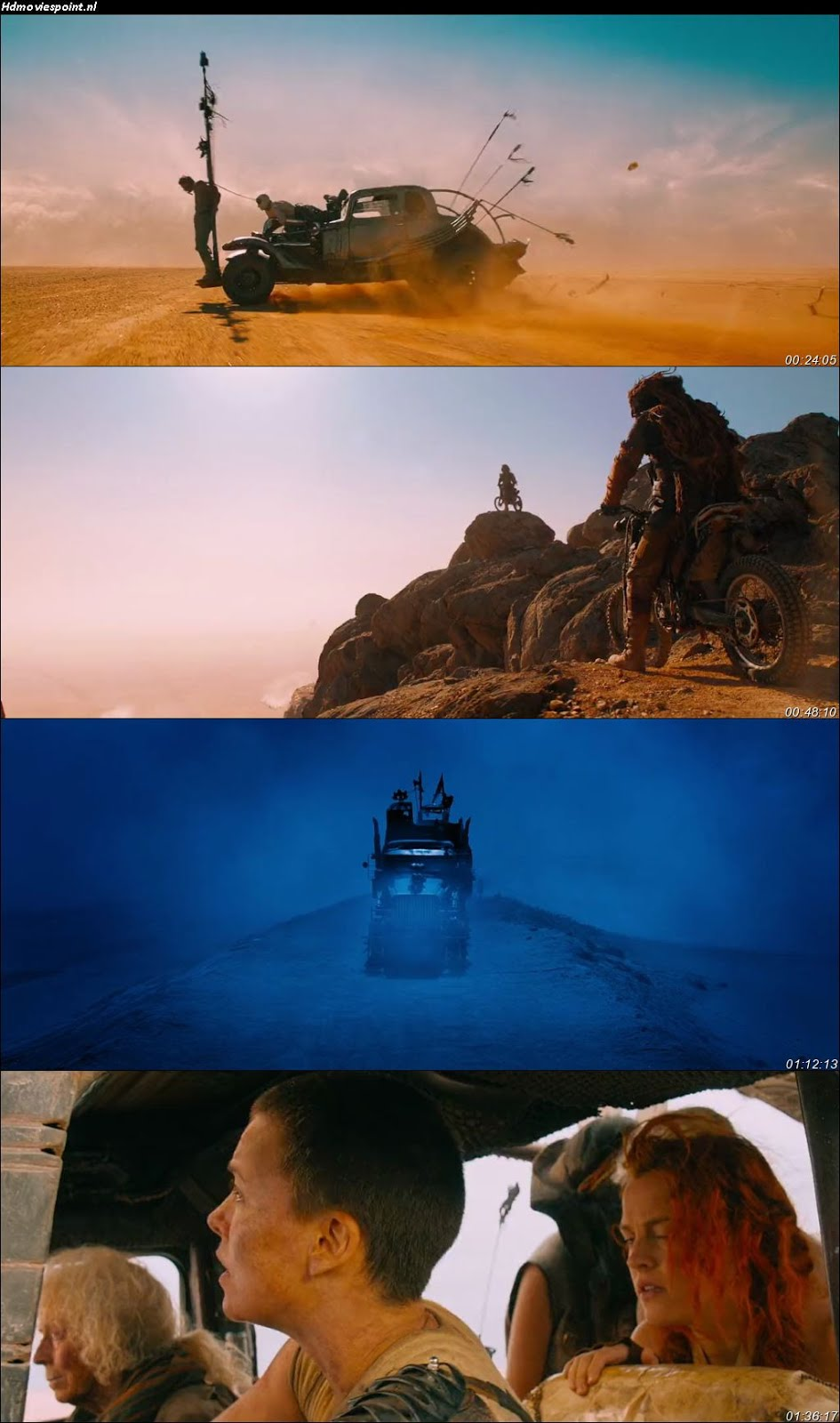 Screen Shoot of Mad Max: Fury Road 2015 Full Hindi Dual Audio Movie Download BluRay 480p